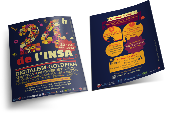 Flyer 24h de l'insa édition 2014 version jour